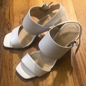 Botkier Farrah White Sandals